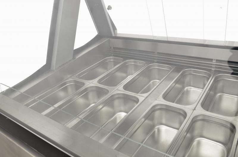Omcan FR-CN-1200-D refrigeration > display freezers > gelato display case