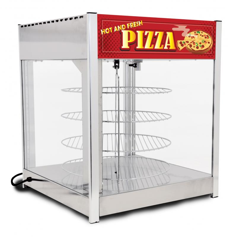 Omcan DW-CN-0457-SS merchandising > hot food merchandisers > pizza display warmers
