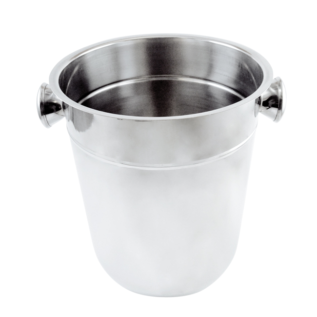 Omcan 80836 wine buckets and stands