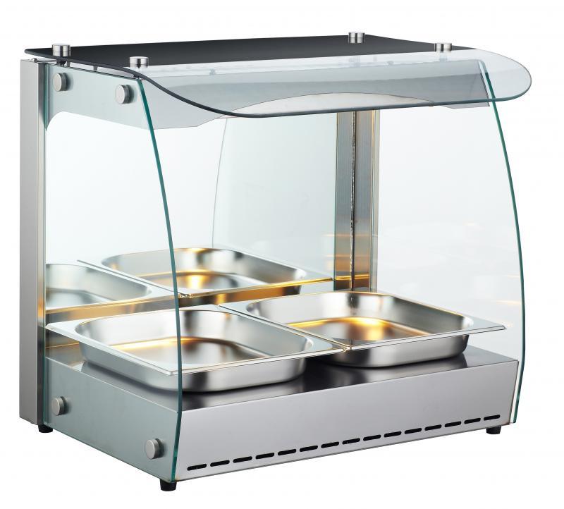 Omcan FW-CN-0066-C heated display case