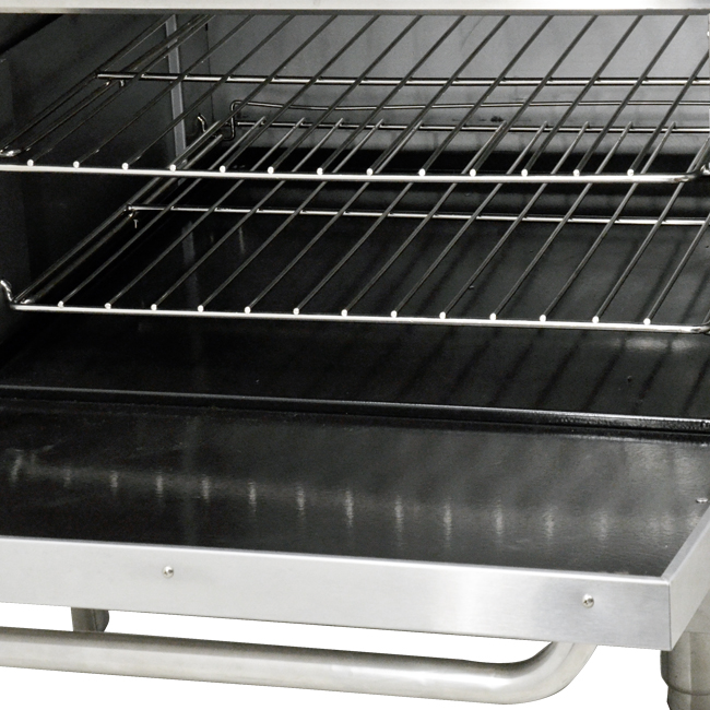 Omcan CE-CN-0914-L food equipment > cooking equipment > commercial gas ranges