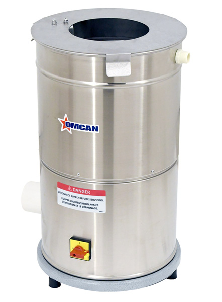 Omcan PEBR0004 food equipment > peelers and spinners > garlic peeler