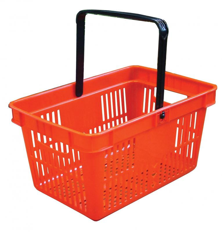 Omcan 21183 customer convenience > grocery essentials > shopping baskets and grocery carts
