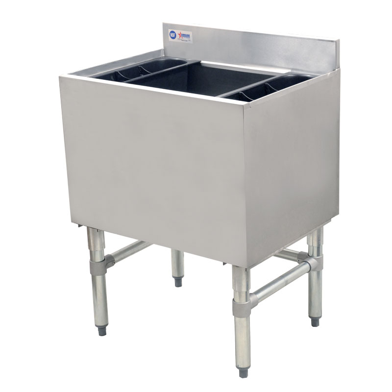 Omcan 43477 ice bins and accessories