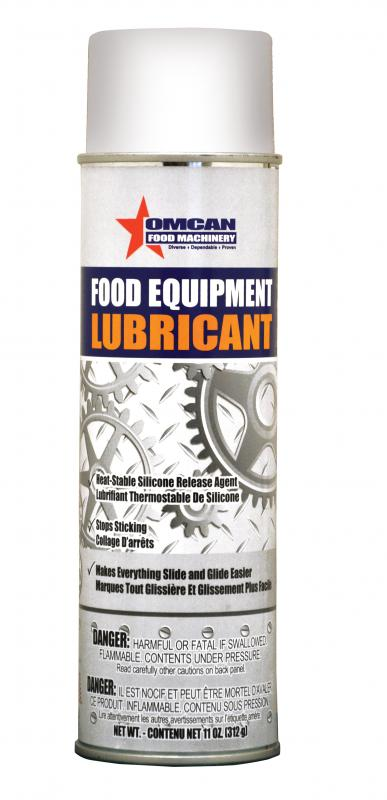 Omcan 31212 maintenance and safety > oil and lubricants > silicone spray