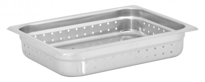 Omcan 85200 smallwares > kitchen essential > stainless steel steam table pans > perforated steam table pan|smallwares > kitchen essential > stainless steel steam table pans
