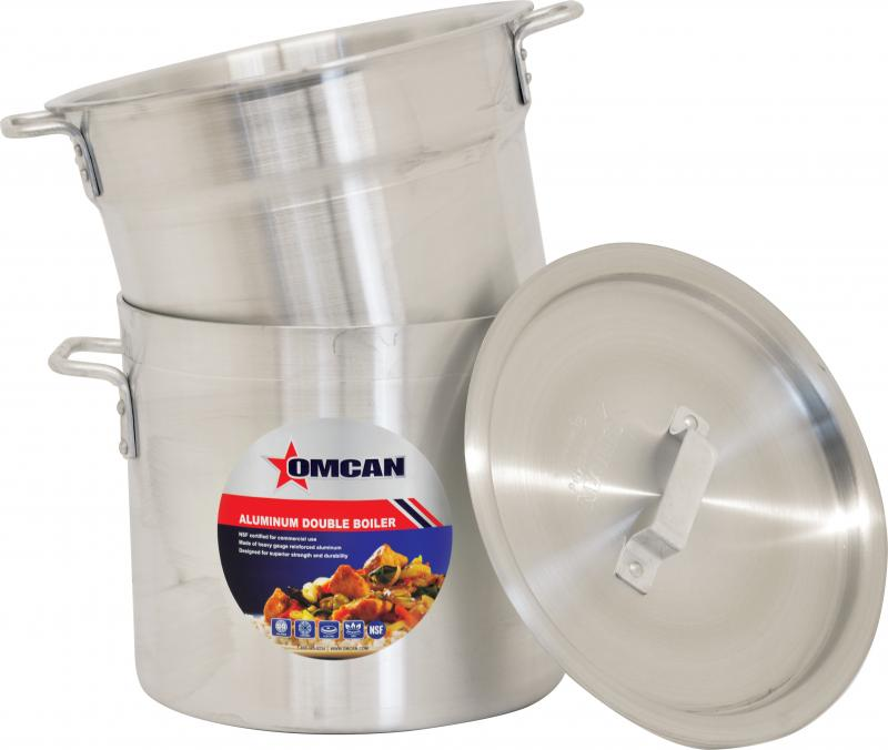 Omcan 80494 smallwares > professional cookware > double boilers > aluminum double boilers