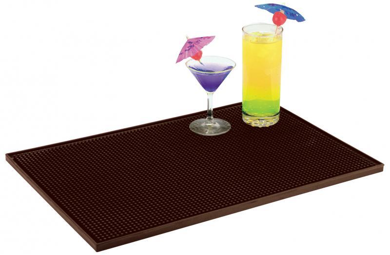 Omcan 80362 smallwares > bartending supplies > bar service mats and bar rail spill mats