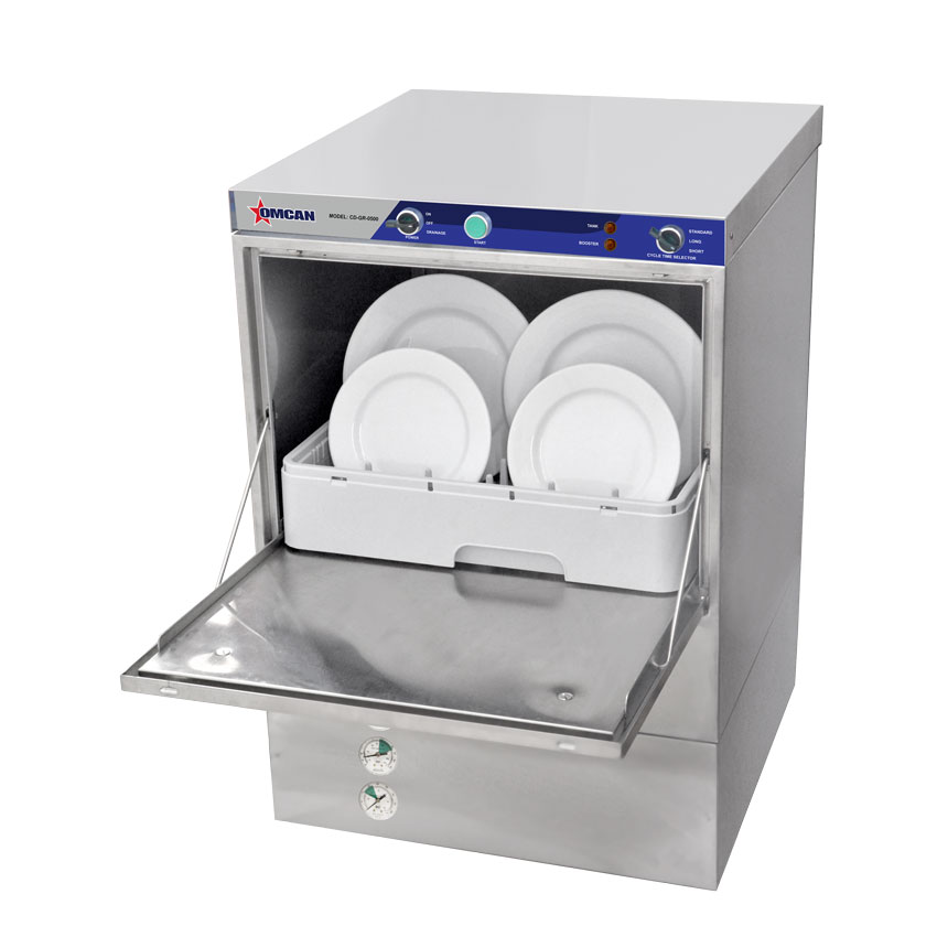 Omcan CDGR0500 handling and storage > dish washing equipment > dishwashers and racks
