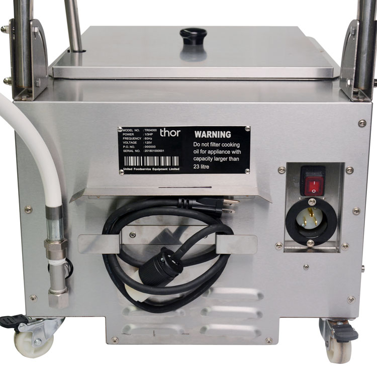 Omcan OF-CN-0023 food equipment > cooking equipment > oil filtering machine