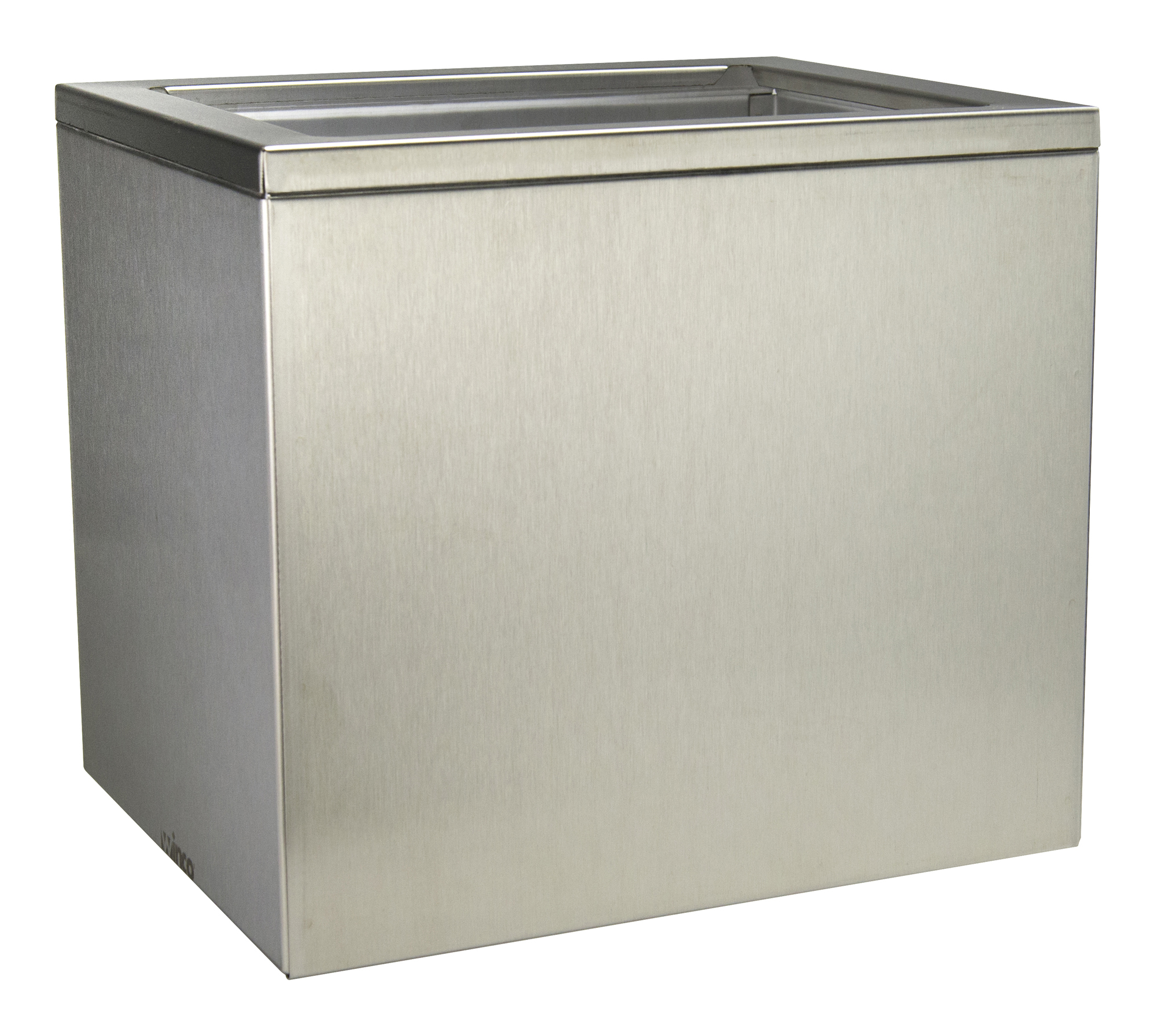 Winco PKTS-PT03 stainless steel container