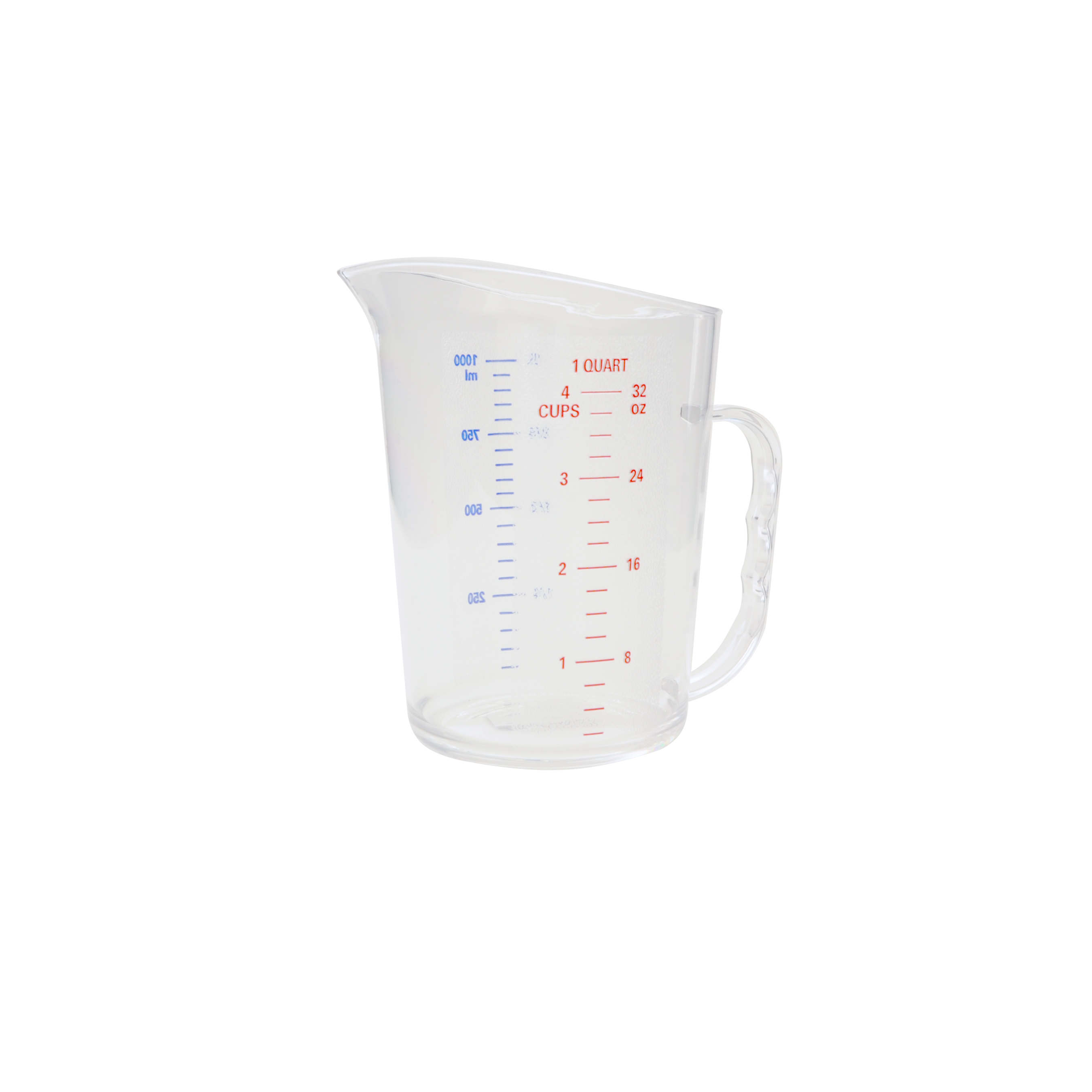 Thunder Group PLMD032CL food preparation; polycarbonate measuring cup