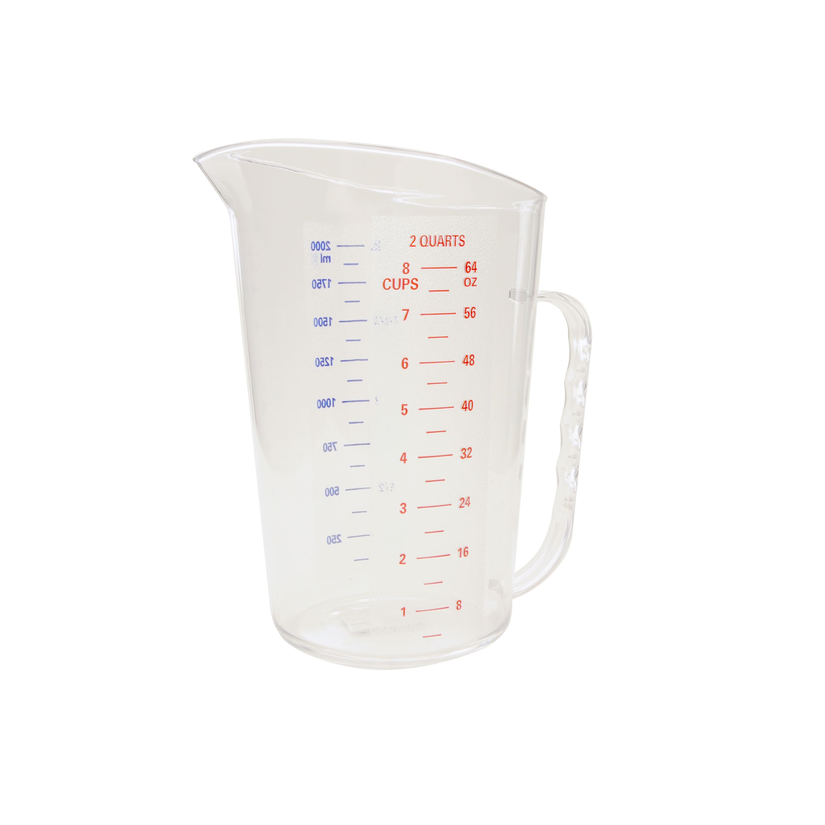 Thunder Group PLMD064CL food preparation; polycarbonate measuring cup