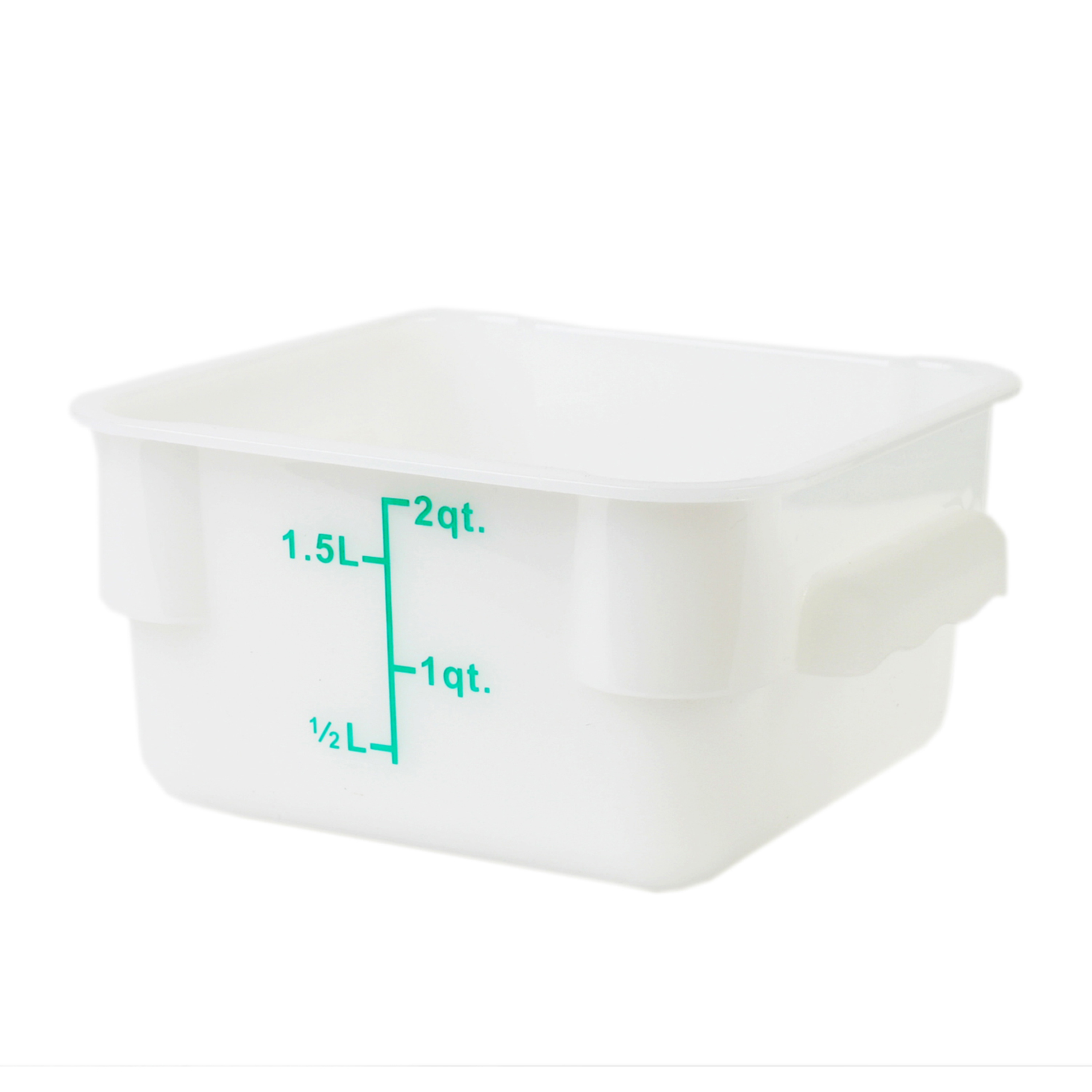 Thunder Group PLSFT002PP food preparation; square food storage container & cover