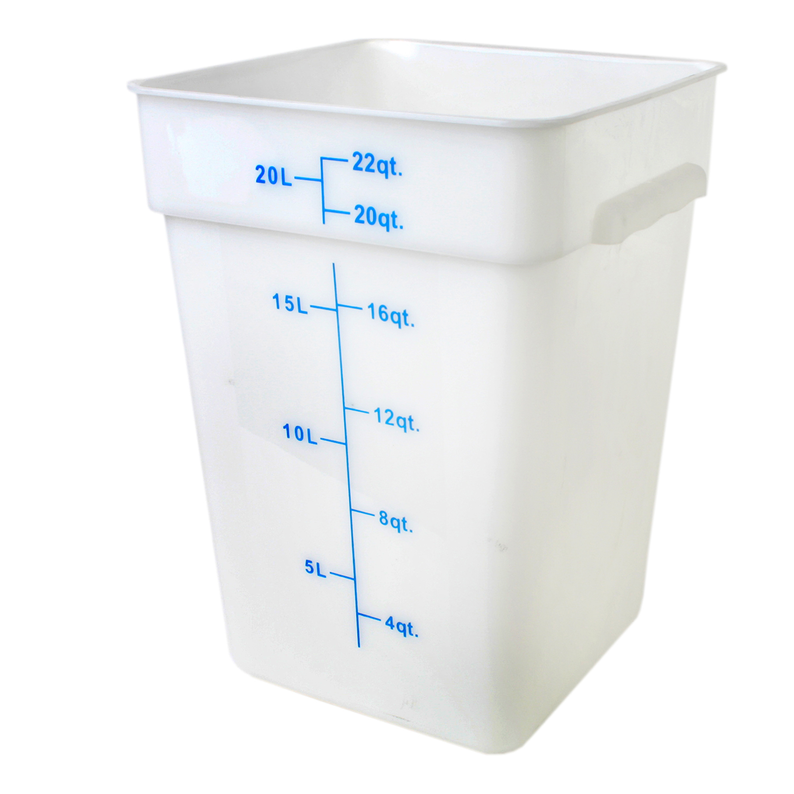 Thunder Group PLSFT022PP food preparation; square food storage container & cover