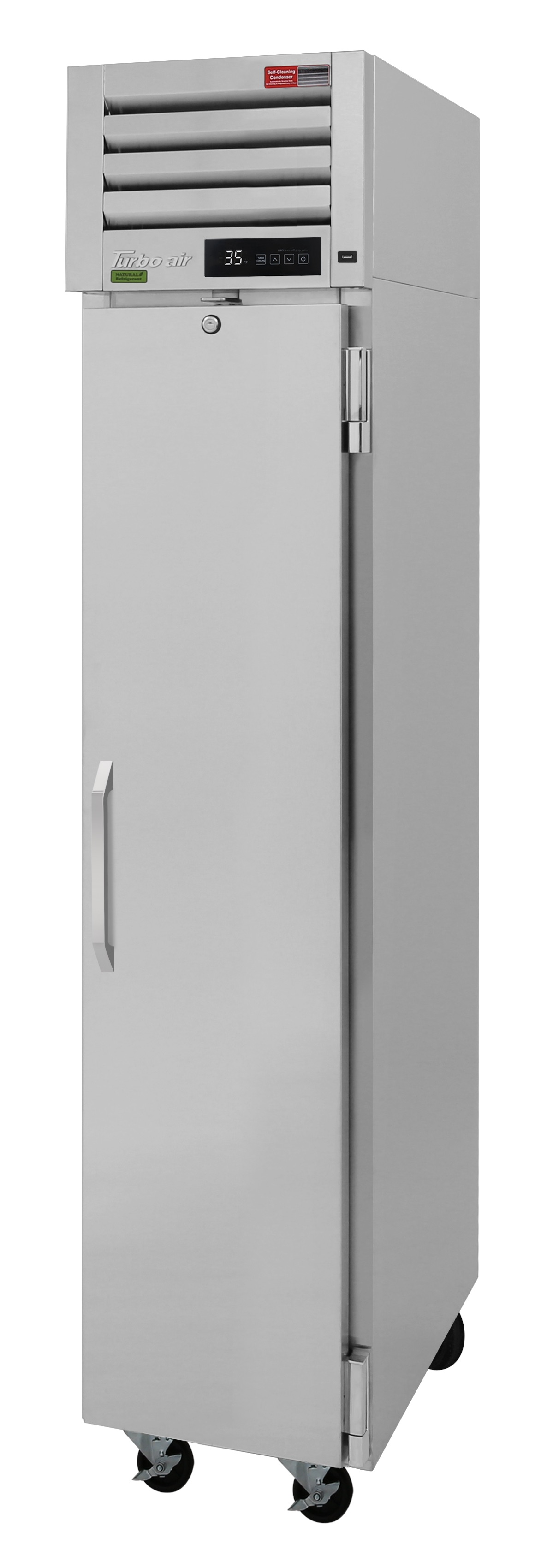 Turbo Air PRO-12-2R-N pro series - reach in refrigerator