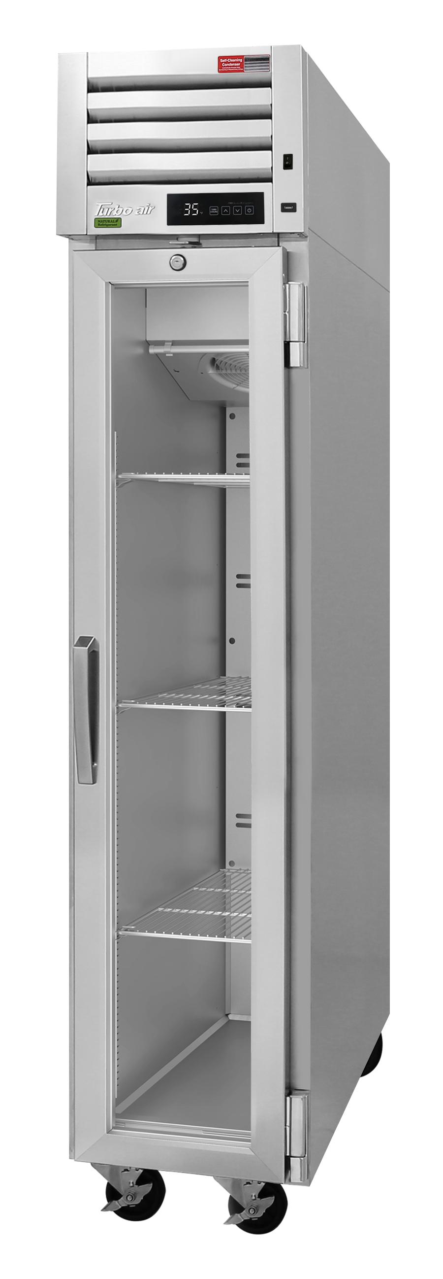 Turbo Air PRO-15-2R-G-N pro series - reach in refrigerator