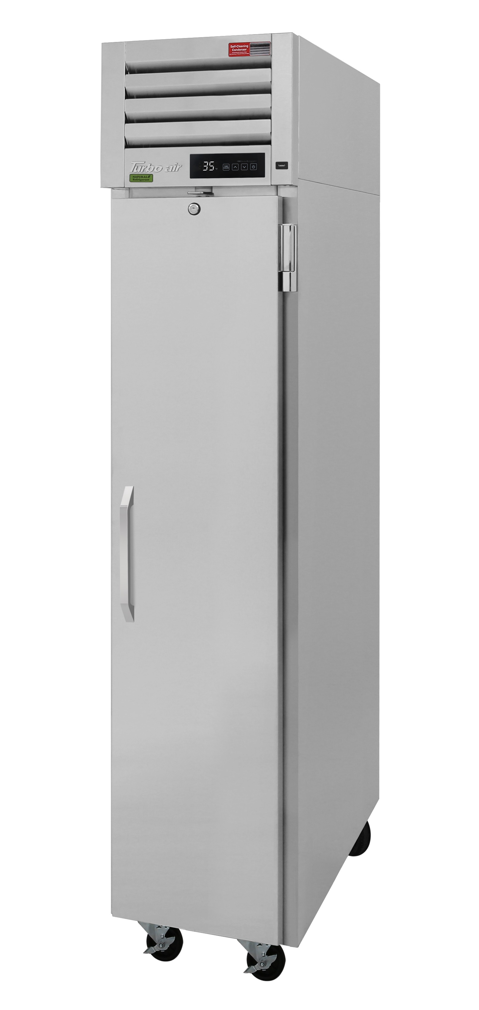Turbo Air PRO-15-2R-N pro series - reach in refrigerator