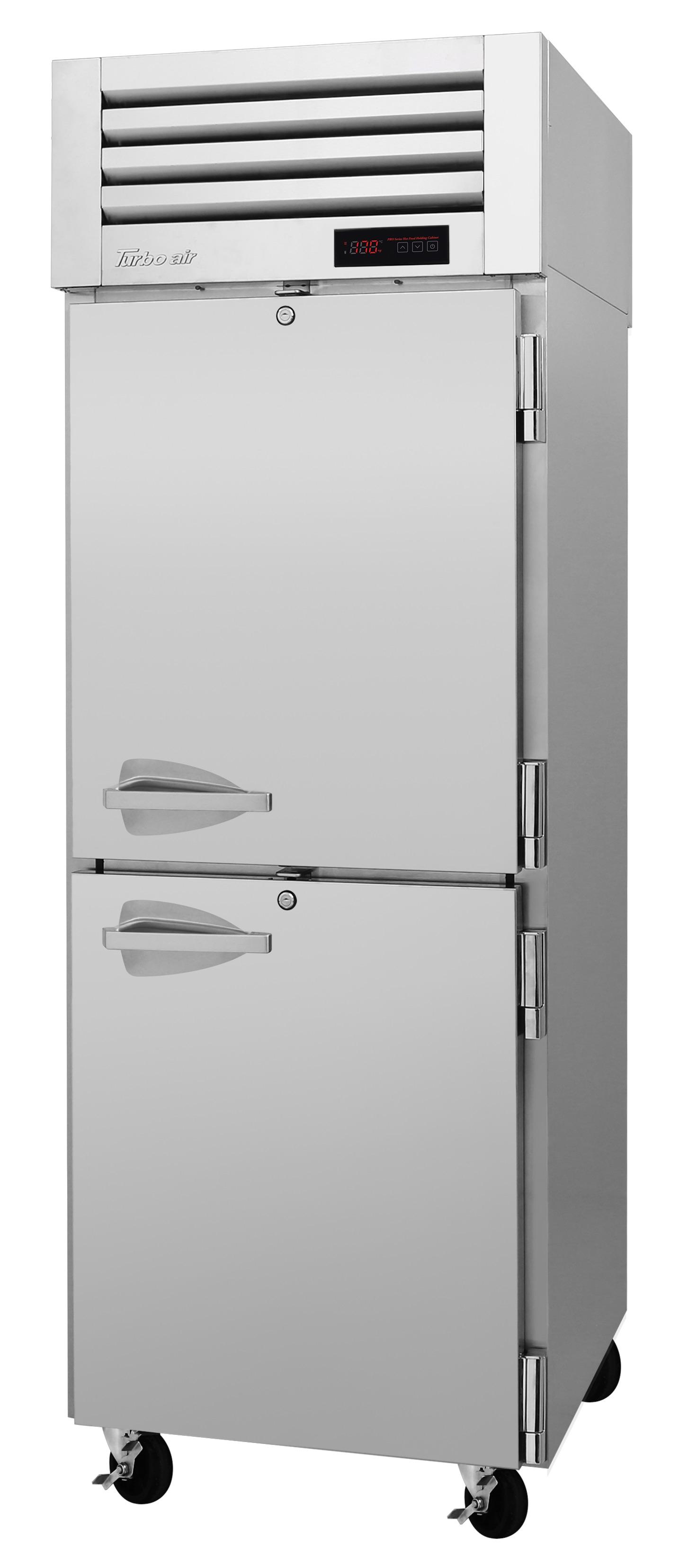 Turbo Air PRO-26-2H2 pro series - reach in refrigerator