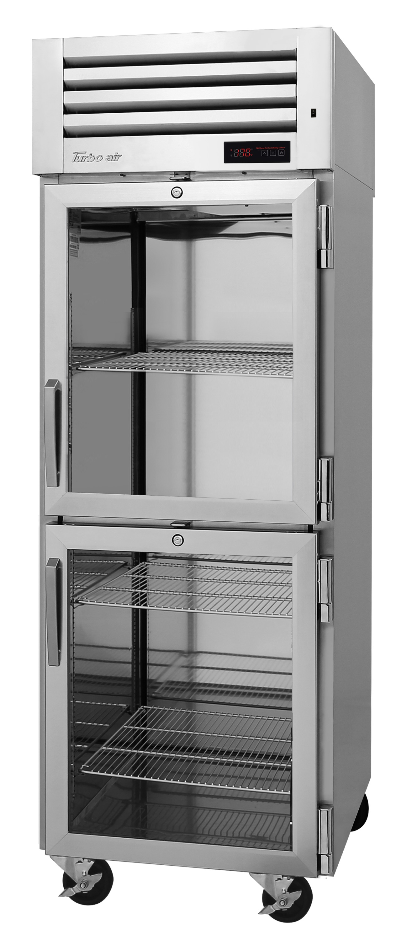 Turbo Air PRO-26-2H2-GS-PT pro series - reach in refrigerator