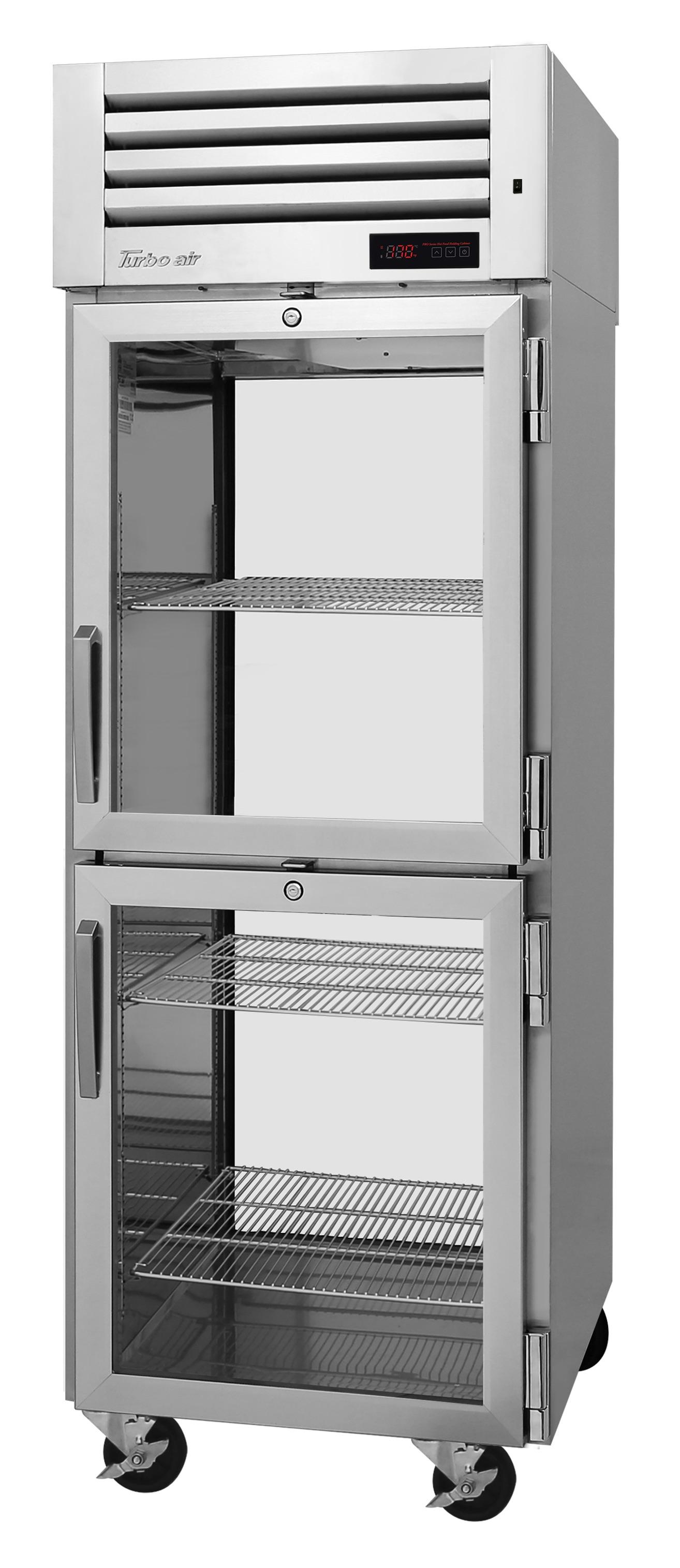 Turbo Air PRO-26-2H-G-PT pro series - reach in refrigerator