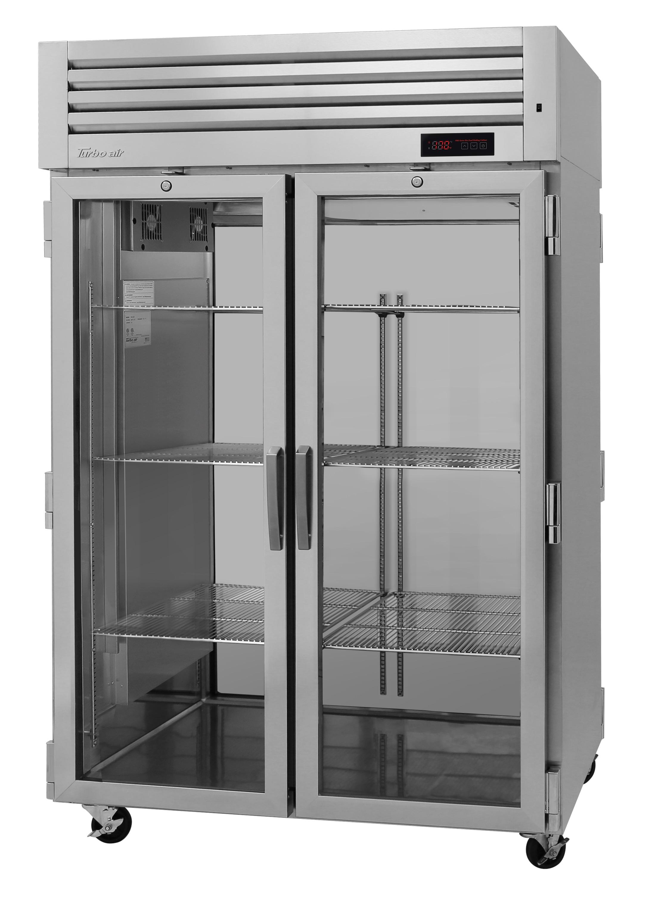 Turbo Air PRO-50H-G pro series - reach in refrigerator