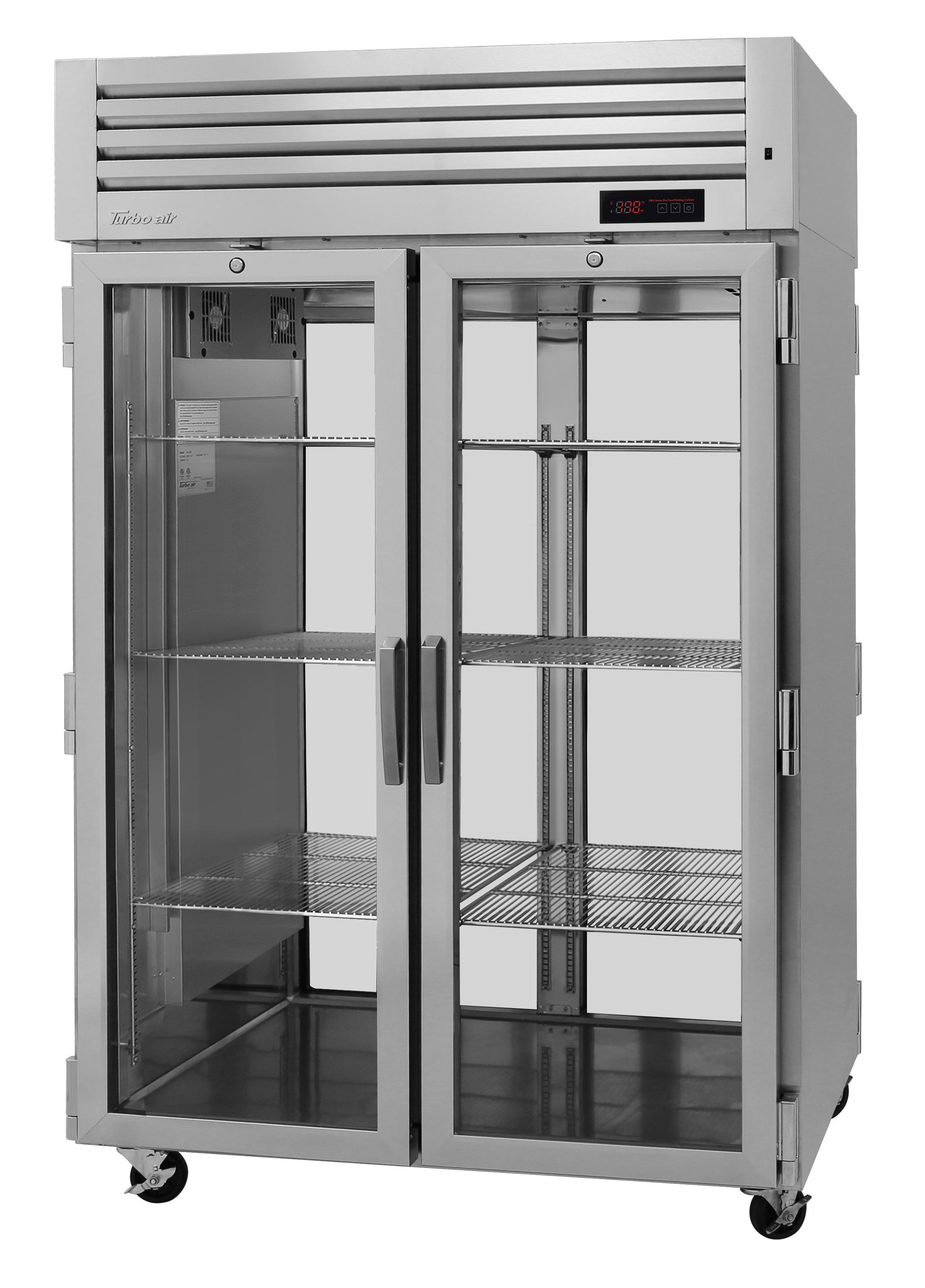 Turbo Air PRO-50H-G-PT pro series - reach in refrigerator