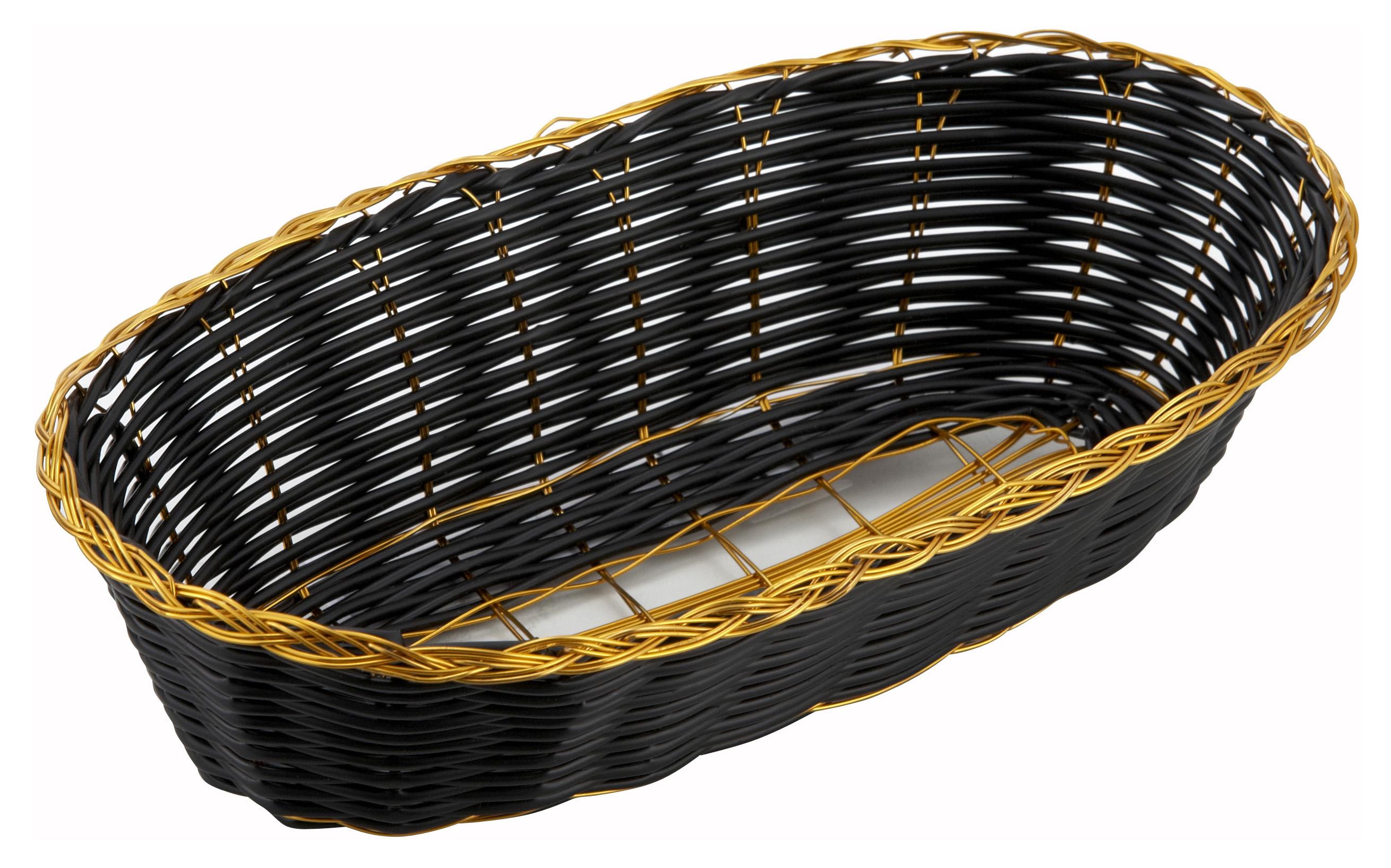 Winco PWBK-9B woven baskets
