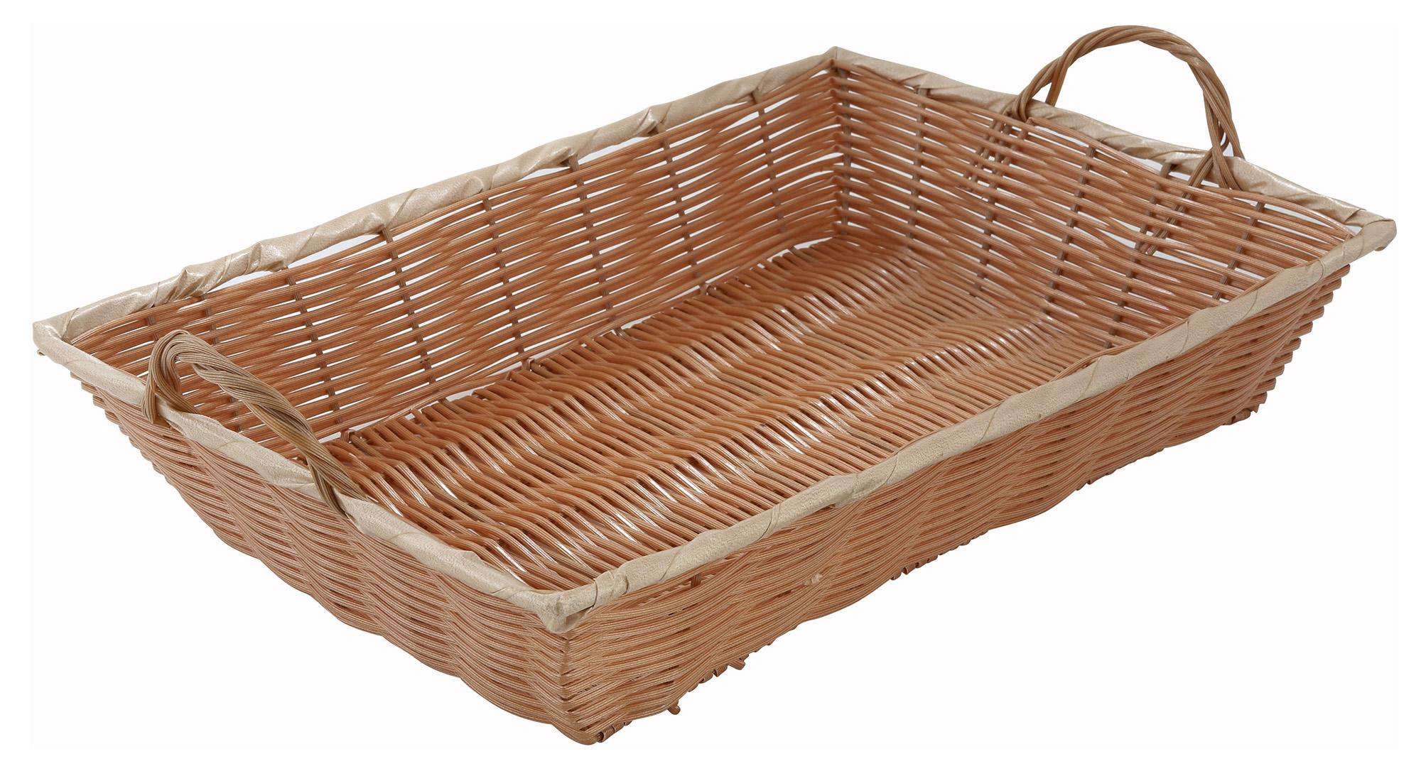 Winco PWBN-16B woven baskets