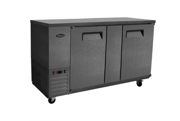 Atosa USA SBB69GRAUS2 shallow depth back bar coolers