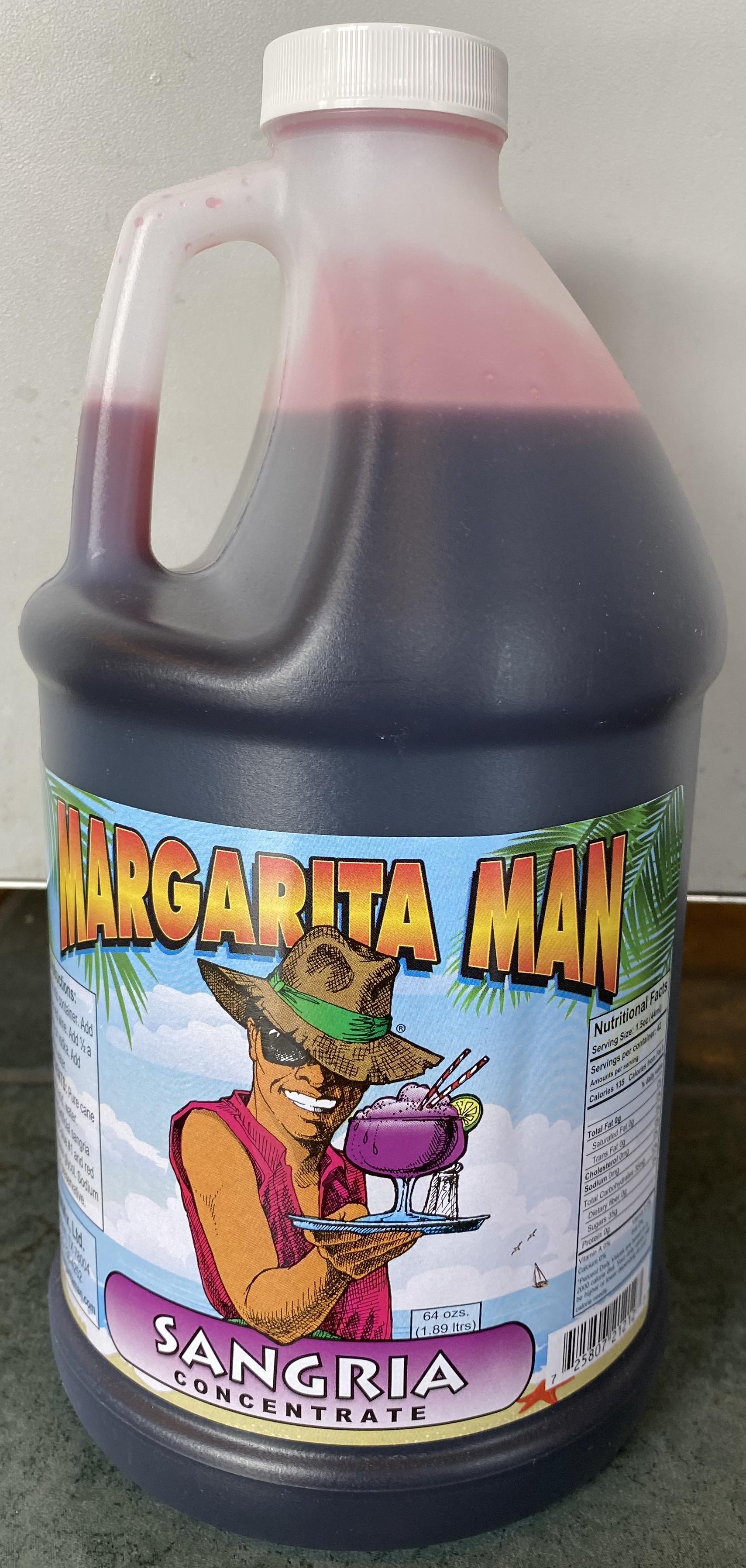 Margarita Man Mrg11 Sangria Concentrate