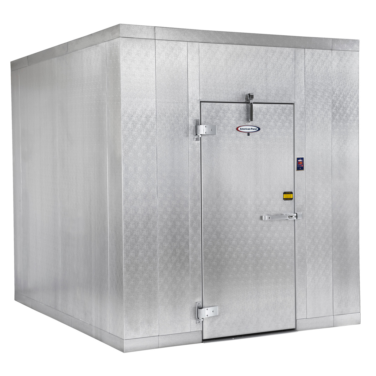 American Panel Corporation 8X8F-O walk in freezer, modular, remote