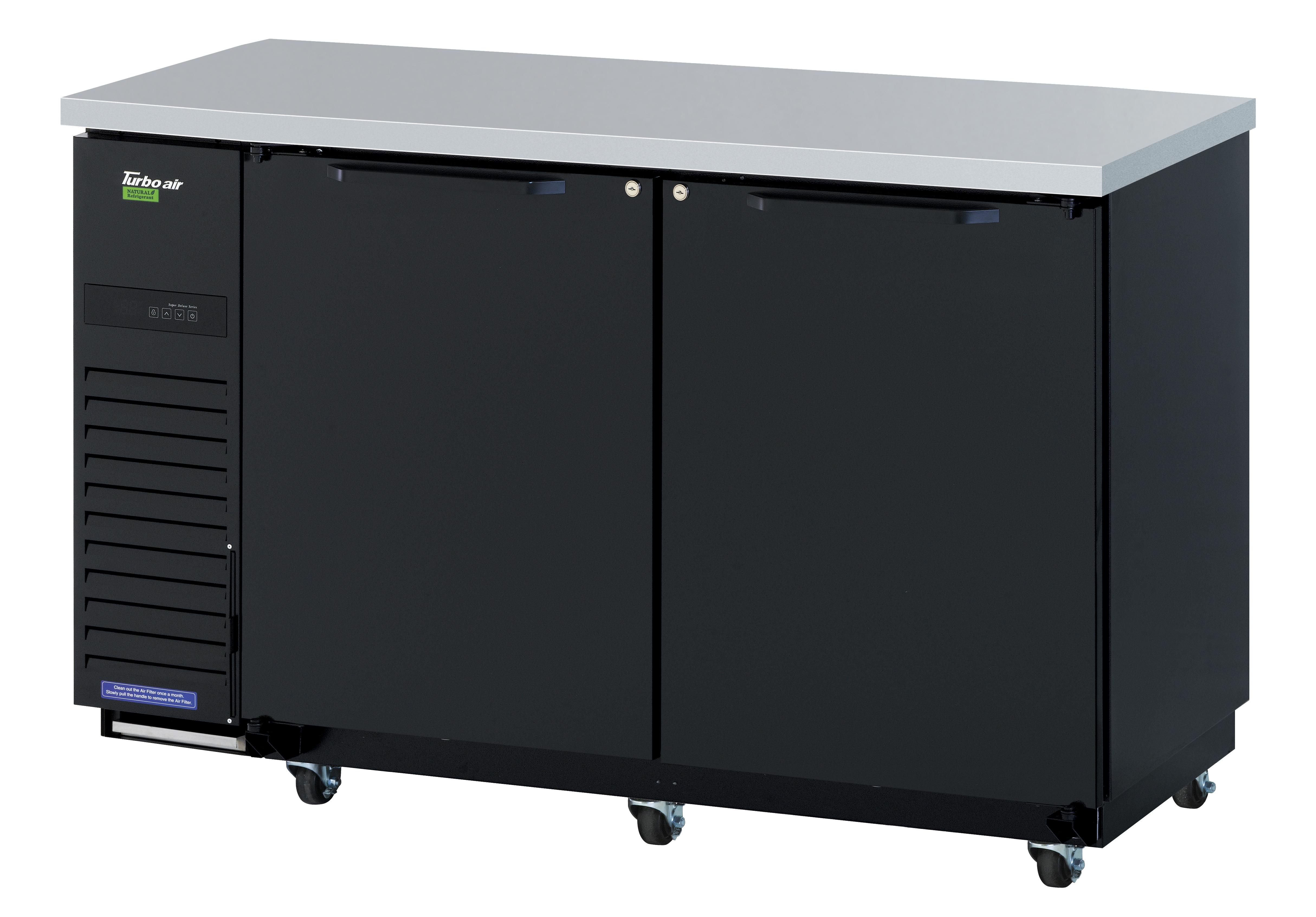 Turbo Air TBB-24-60SBD-N6 back bar cabinet, refrigerated