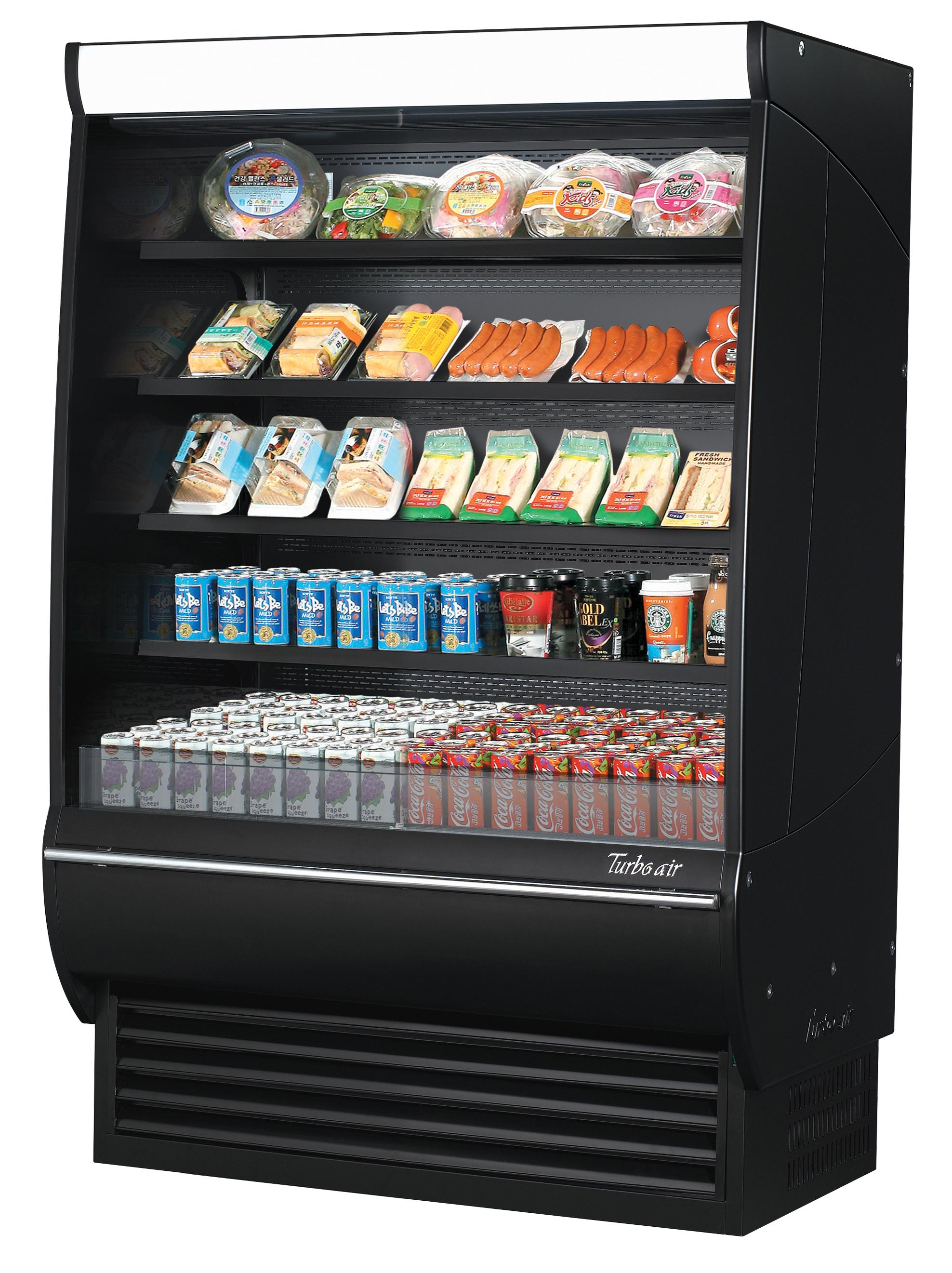 Turbo Air TOM-48DXB-SP-A-N display cases