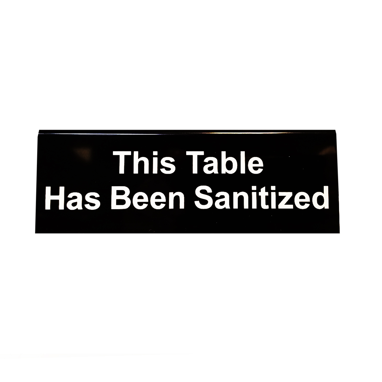 TableCraft Products 10684 restaurant compliance signs