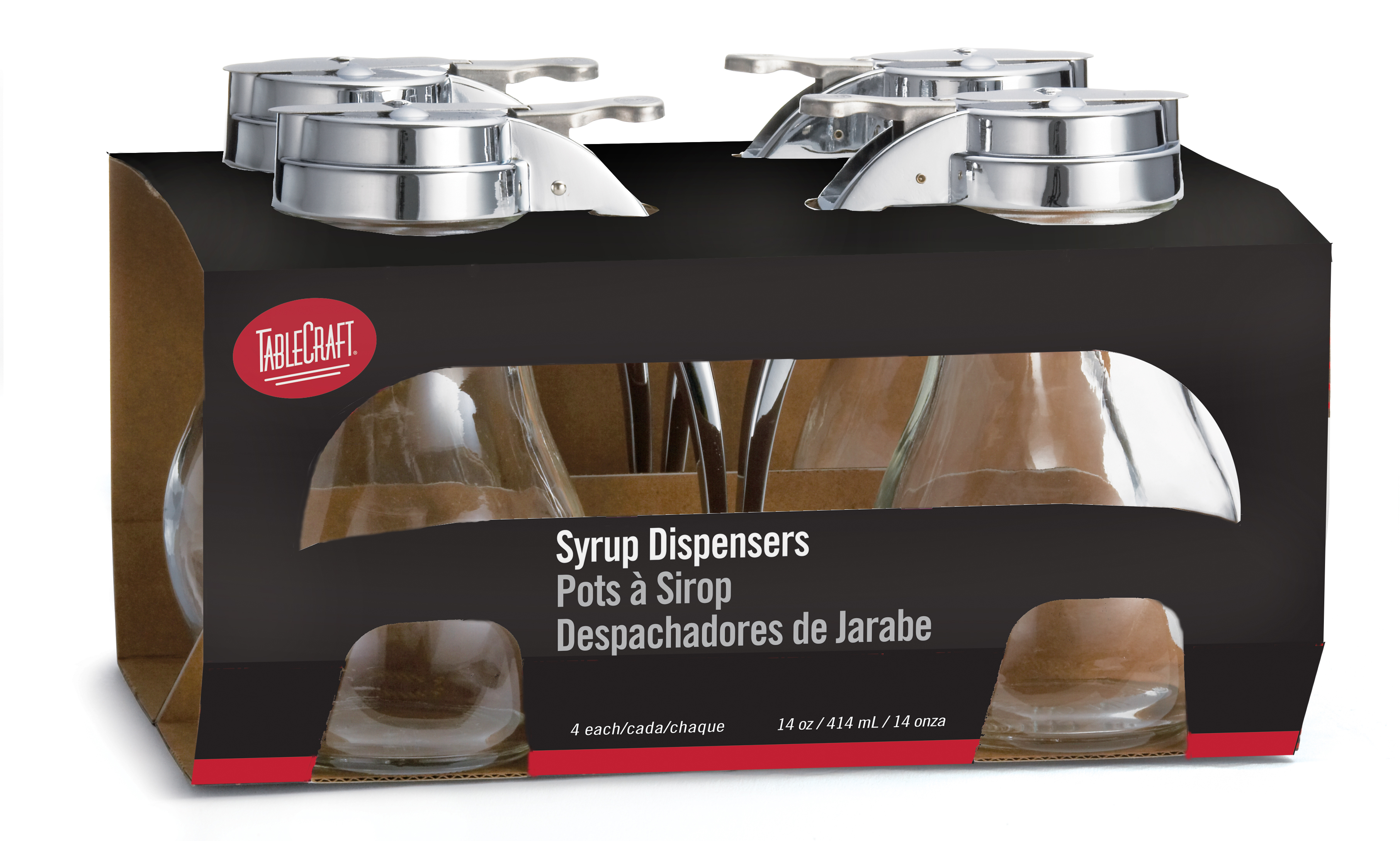 TableCraft Products C414-4 syrup pourer