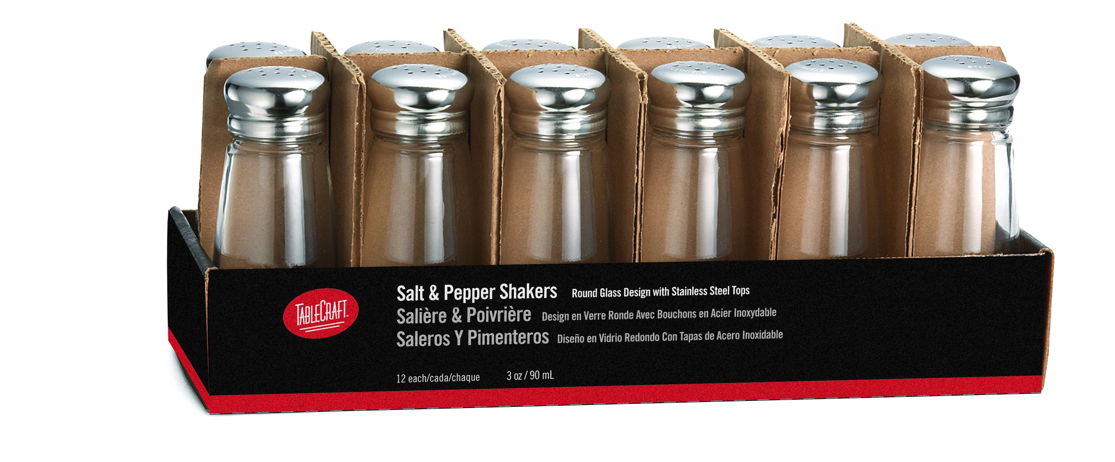 TableCraft Products C132-12 salt / pepper shaker