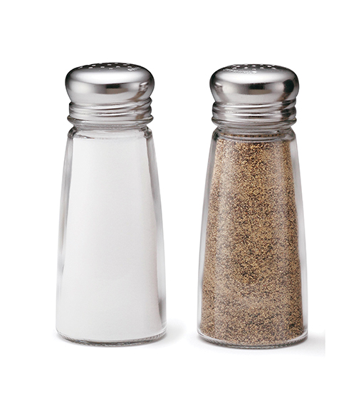 TableCraft Products 132S&P-2 salt / pepper shaker