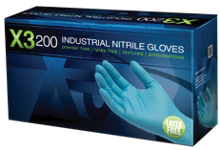 Ammex X3D48100 disposable gloves