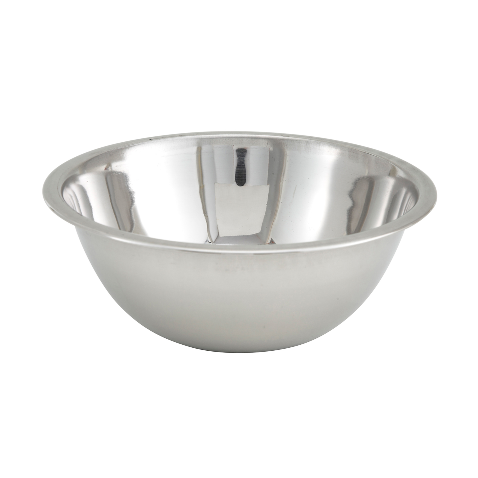 1650-102 Winco Mixing bowl, metal 3qt.