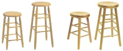 2050-39 Natural Wood Bar Stool 24