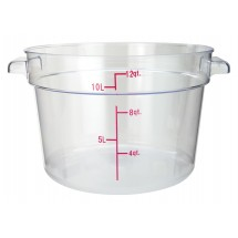 2700-11 Crestware 1qt Storage Container Clear