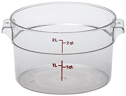 2700-125 Cambro Food Storage Container 2 qt. Clear