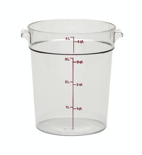 2700-13 Cambro Food Storage Container 4qt Clear