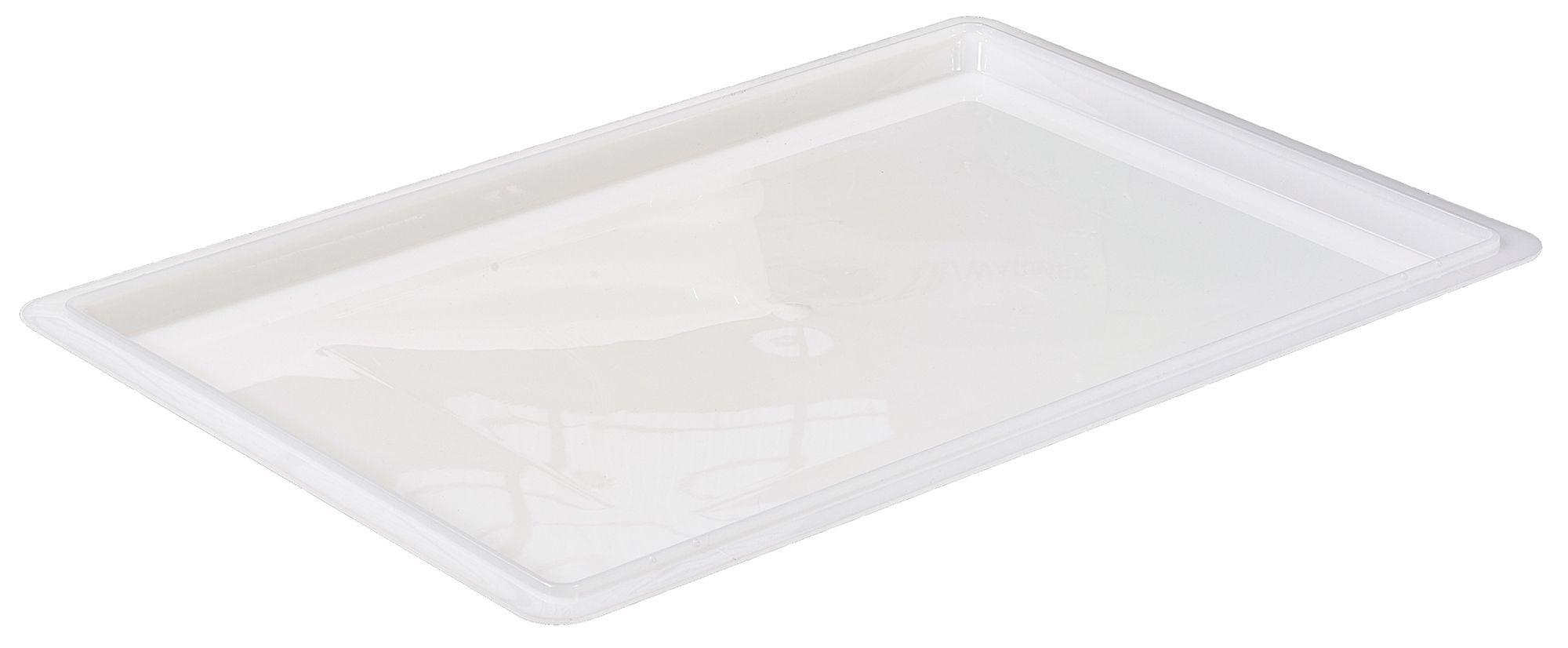 2700-820 Winco White Food Box Cover Lid 18x26