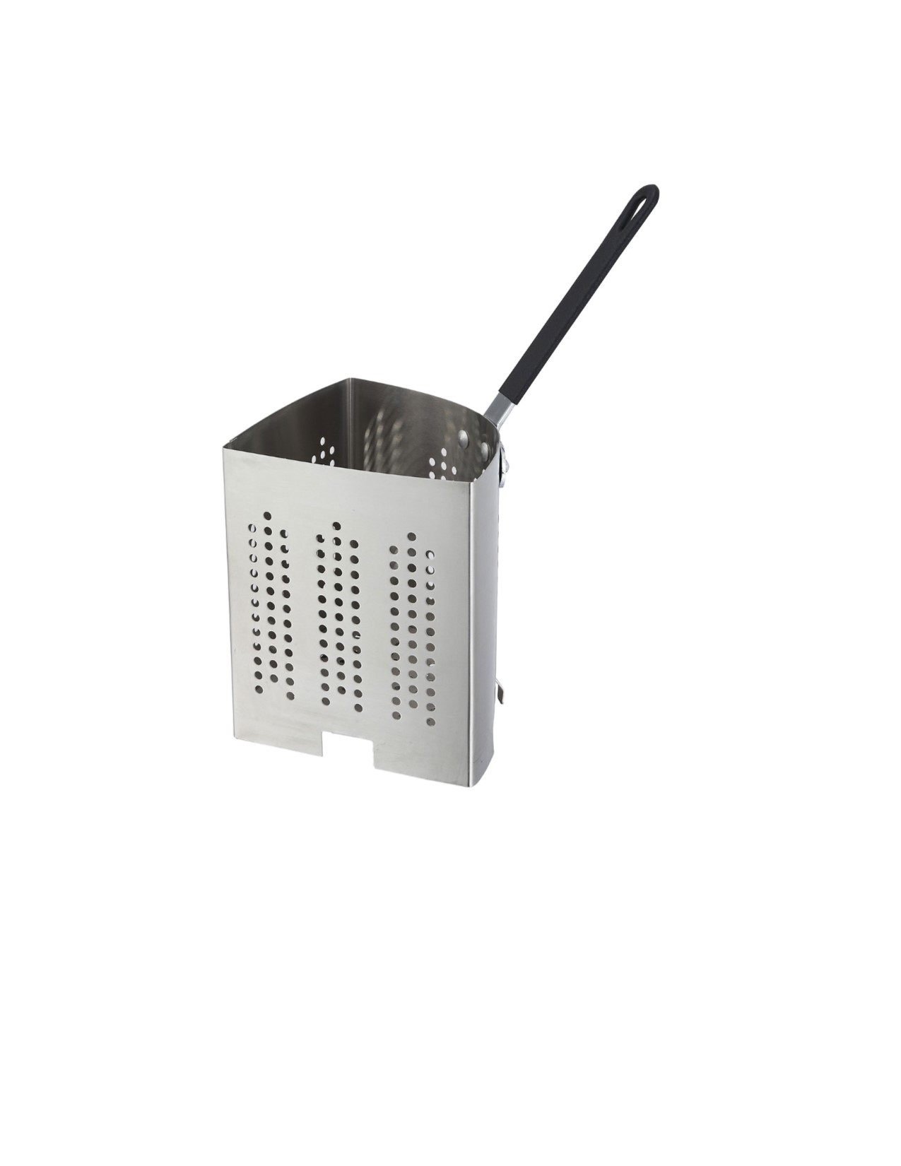 2904-42 Winco Inset, 1/4 size, for 20 qt. pasta cooker, stainless steel