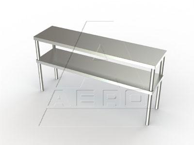 2DO-1284 AERO Manufacturing overshelf, table-mounted