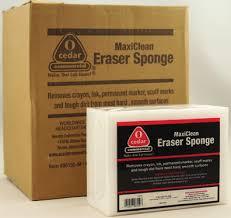 3000-06 MaxiClean Eraser Sponge 4pk