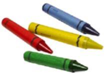 3100-08 CS Hooters Crayon 4/Colors