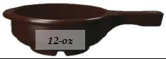 3325-244 GET Enterprises Plastic Soup W/hndl Brown
